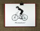 Encouragement Greeting Card - Momentum