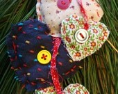 Christmas Ornament Hearts