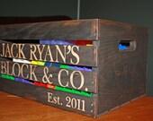 Personalized Primitive Storage Crate