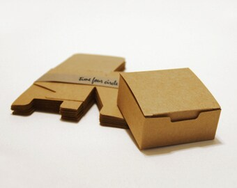 Set of 150, Kraft Gift Box, Favor, Gift, Party
