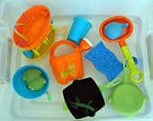 Sensory Tub Toddler Water Early Learning Educational Package
