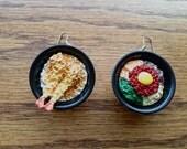 Sushi Tempura/Bibimbap Food Earrings