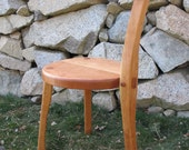 3 Legged Cherry Wood Chair - Guitar Stool - Handmade