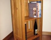Craftsman Style Bookcase - White Oak - Fine Furniture