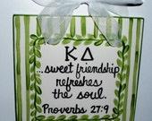 Kappa Delta Friendship Tile