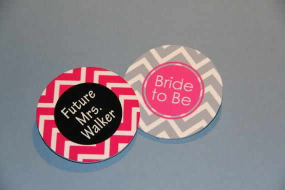 Bachelorette Bride to Be Button Pin
