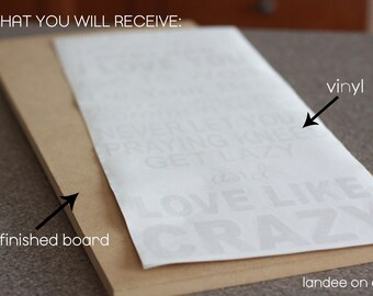 Love Like Crazy DIY Kit