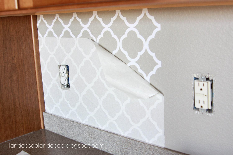 Vinyl Kitchen Backsplash Vinyl Tile For Kitchen Backsplash