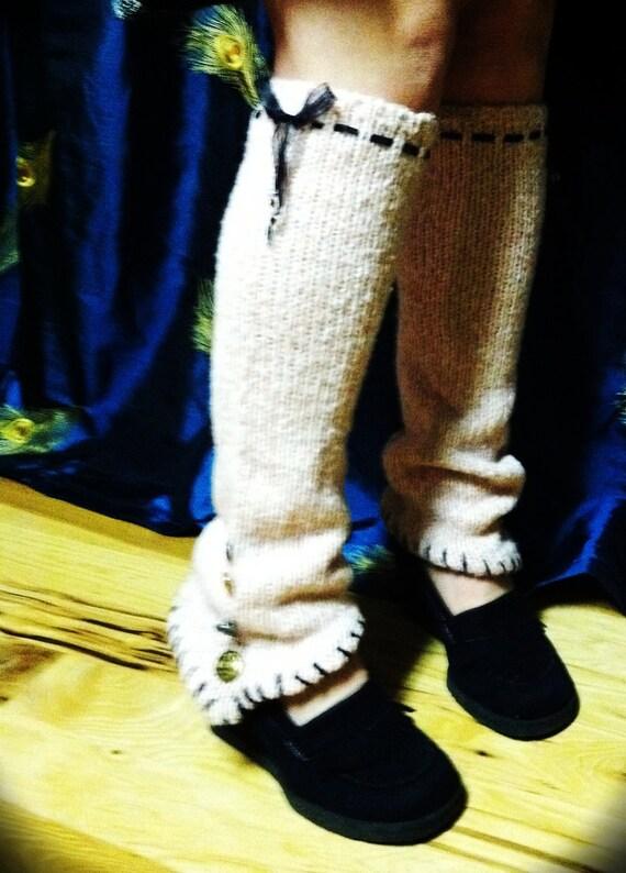 Pretty in Pink Leg Warmers/Gaiters