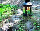 Candle Lantern - Hanging Tea Light Lantern - Garden Decor - Summer Decor - Home and Garden