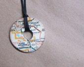Phoenix Washer Necklace