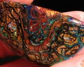 Collector Piece   ///  Koroit Boulder Opal Specimen  ////Best Offer