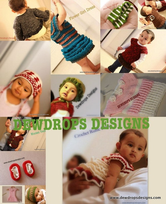 Any 4 Patterns From Dewdrops Store