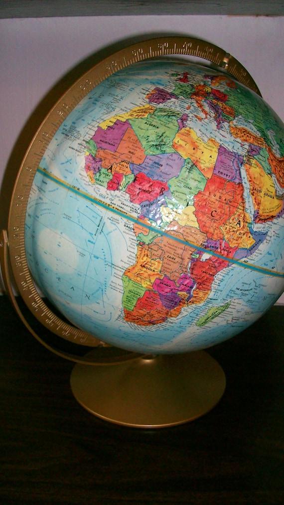 Vintage Replogle 10 Standard Globe