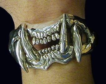 Sterling Fang Bracelet