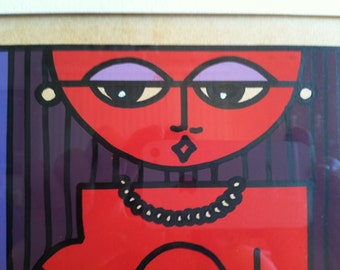 """Vintage 1975 """"Check-Mate Nudie""""  Art by Lamson"""