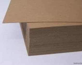 100 - 8.5 x 11 Chipboard Sheets Pads Cardboard for Photos Backing Boards Crafts Shirt 8-1/2