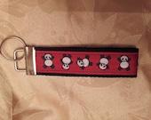 Panda Bears Key Fob