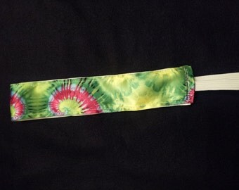 Green Tie Dye No Slip Headband