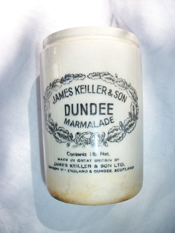 Simply Sweet - Old English Dundee Orange Marmalade Stoneware Crock