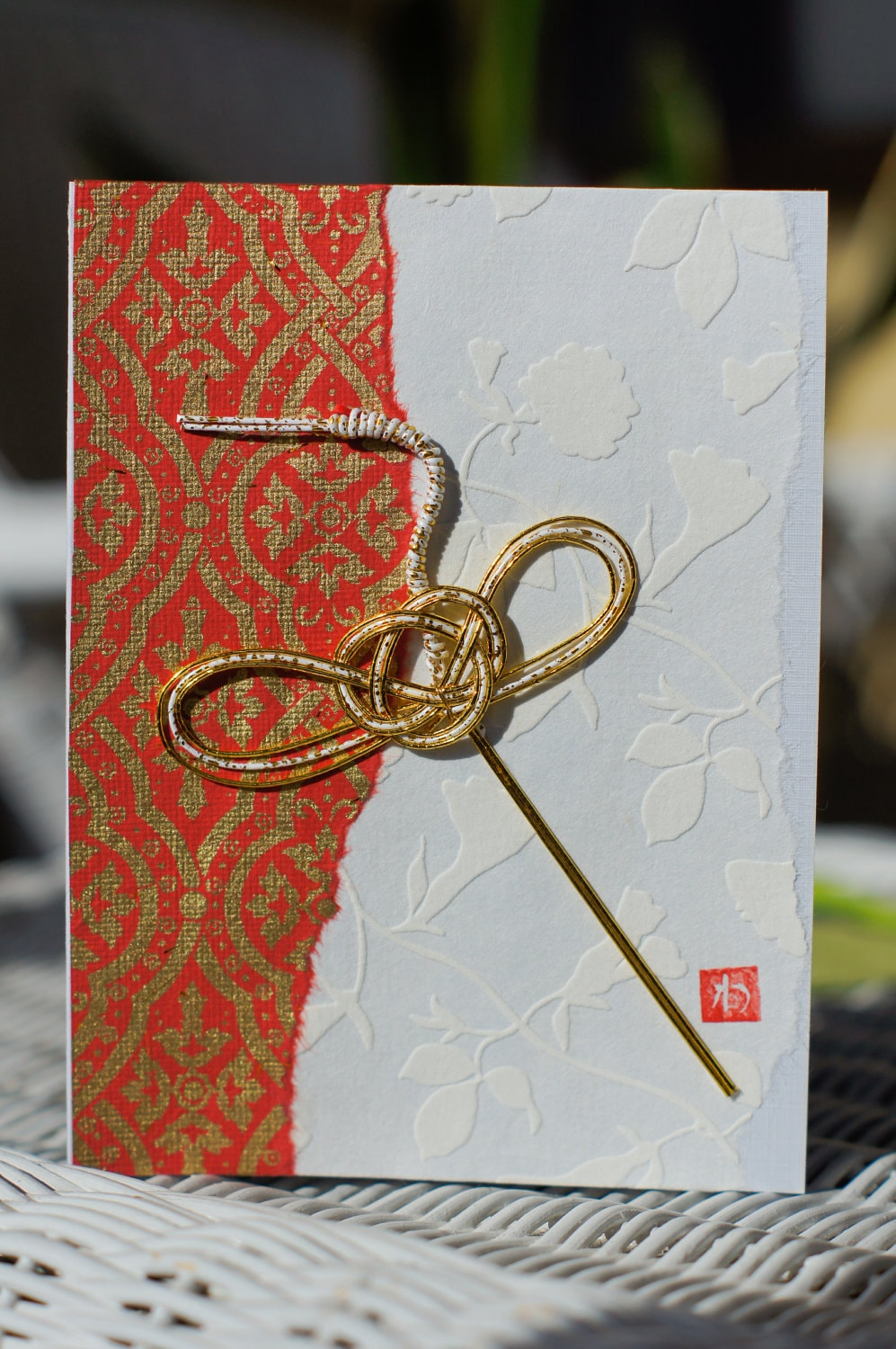 exquisite handcrafted japanese washi paper greeting cards