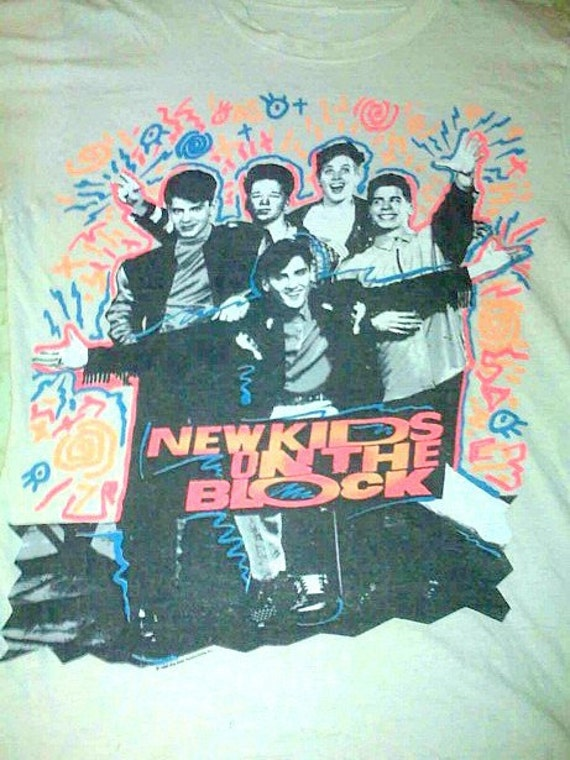 Authentic New Kids On The Block Tshirt 90's