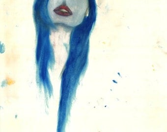 "Dana, An 11"" x 14"" Print By: Allison Harvard"