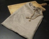 Two Linen Bread Bags
