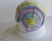 Hand crochted Adorable baby helmet