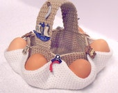 003 Easter egg hunt basket - Crochet pattern - PDF file by Sharapova Etsy