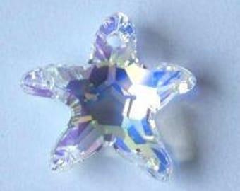 SWAROVSKI 6721 STARFISH Crystal AB Star Sparkle