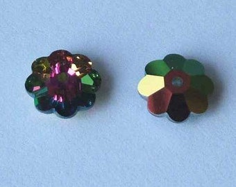 SWAROVSKI 3700 Margarita Crystal Bead VITRAIL MEDIUM