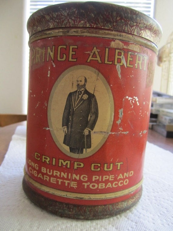 EIGHT ))))))  tin cans SUPER SALE...3 Prince albert Tobacco tins, and 5 assorted small tins.