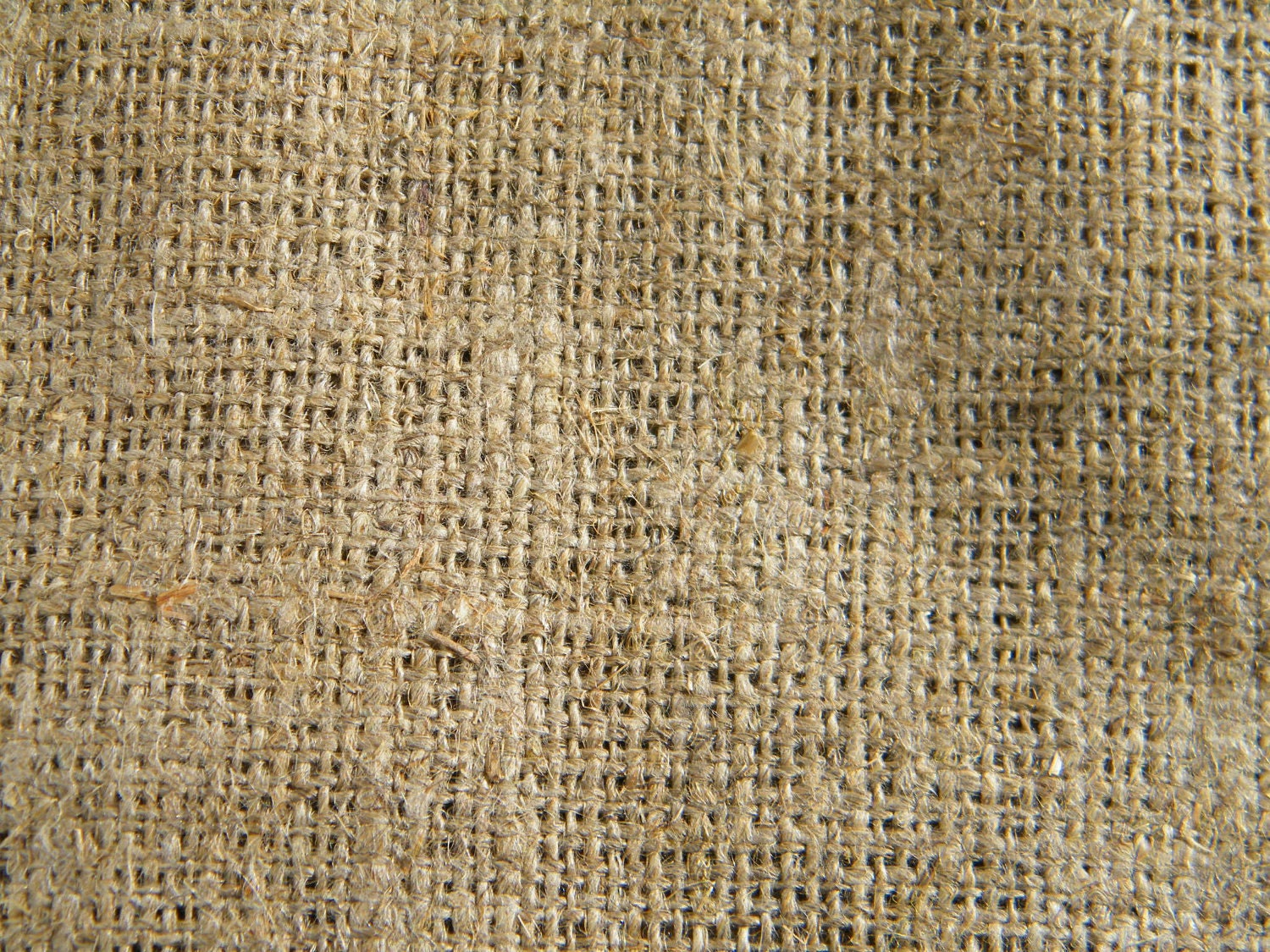 Natural linen burlap grain sack fabric beige ecru by for What is burlap material