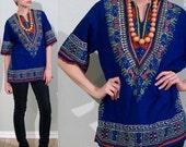 Indian Shirt blouse Tribal print size Medium Large