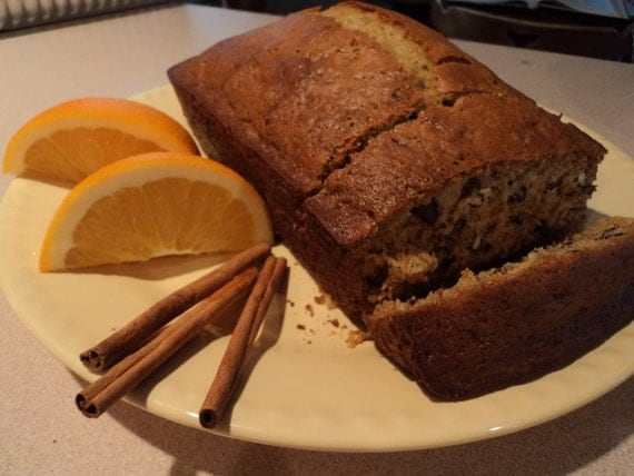 Orange Spice Bread Banana Nut bread, Pumpkin Spice Bread