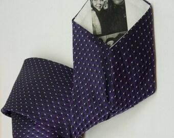 Custom Peekaboo tie with YOUR photo hidden inside.  Tie Options.