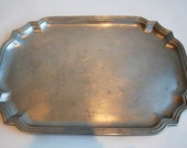 RESERVED - Vintage Wilton Armetale French Country Platter