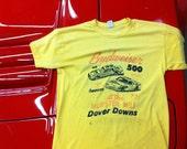 Vintage 80's NASCAR Racing T-Shirt Budwiser Winston Cup