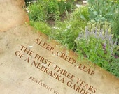 Sleep, Creep, Leap -- A Garden Memoir