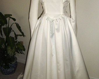 Wedding Gown-Leola - 1940's vintage inspired