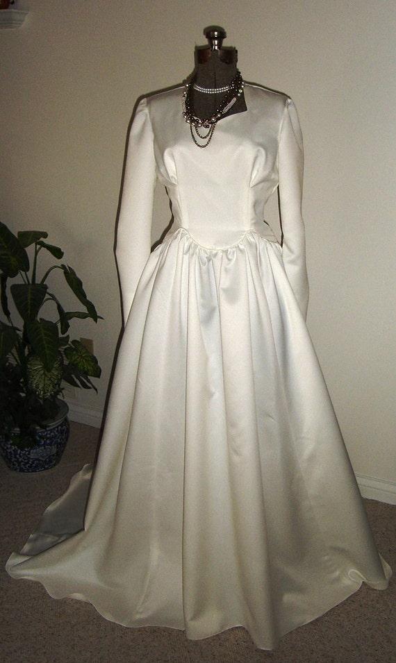 Wedding Gown-Leola - 1940's vintage inspired