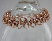 Japanese Lace Copper Chainmaille Bracelet
