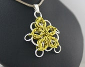 Customized Chainmaille Celtic Star Pendant