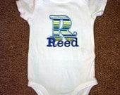 Personalized Letter Onesie or T-Shirt