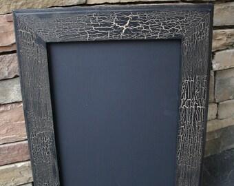 "18x22"" Black Vintage Style Frame Chalk Board"