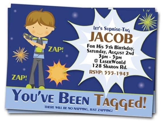 Laser Tag Birthday Invitations Laser Tag Invitation Laser – Laser Tag Birthday Invitations Free