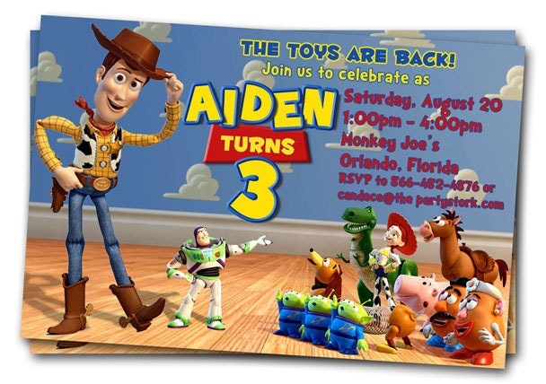 toy story invitations template free