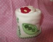 Baby Organic Cupcake Onesie - Baby Shower Gift - Baby Cupcake - Go Green