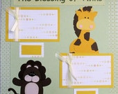 Twins  Scrapbook Page- Premade - Paper Piecing - The Blessing of Twins